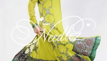 Needlez By Shalimar Lawn Collection For Summer 2012-001