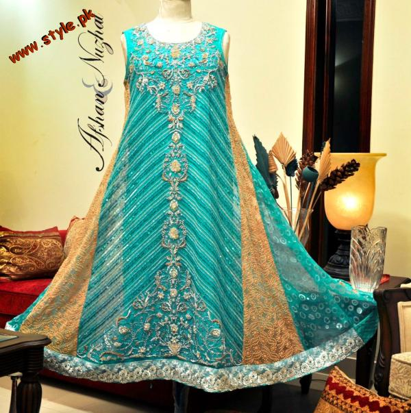 Stunning Semi-Formal Collection by Afsha And Nuzhat 2012-001