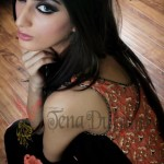 Tena Durrani Latest Formal & Semi Formal Dresses 2012 12