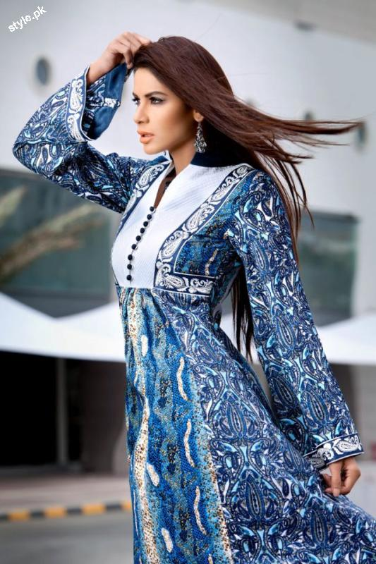 Threads and Motifs Latest Spring Summer Collection 2012 1