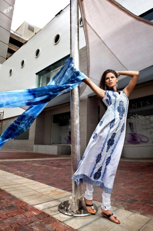 Threads and Motifs Latest Spring Summer Collection 2012 2