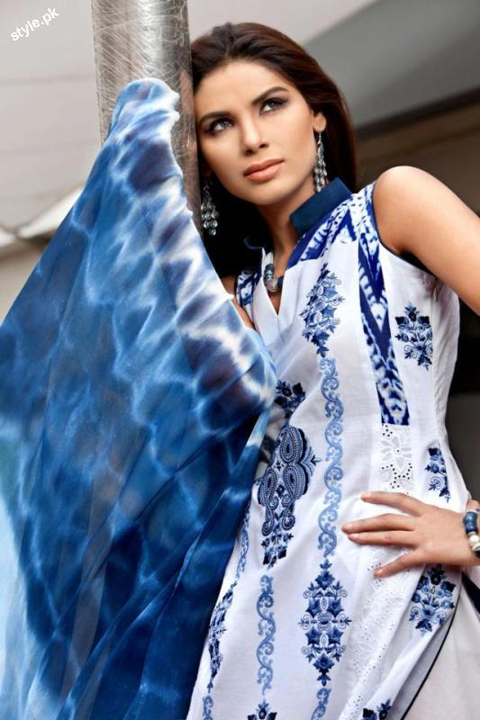 Threads and Motifs Latest Spring Summer Collection 2012 4