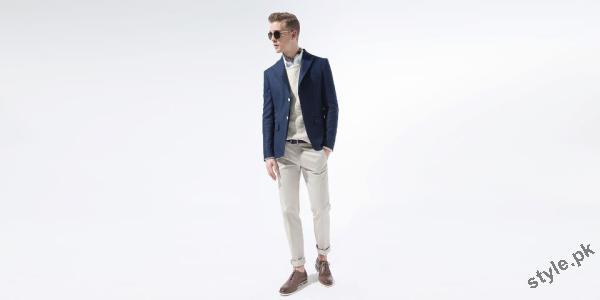 latest men fashion casual wear clothing by ZARA menswear lookbook 2012