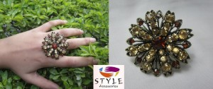 latest fashion rings and bangles for girls by style accessories 010 300x126 stylish accessories jewellery