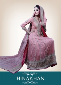 latest bridal collection 2012 by hina khan (2)