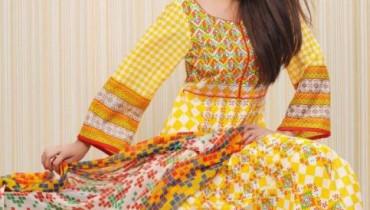 Bakhtawar Lawn Collection 2012 For Girls Summer Dresses 1