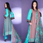 Barkha and Batik Lawn Collection 2012 by Moon Textile 10