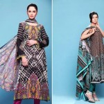 Barkha and Batik Lawn Collection 2012 by Moon Textile 12