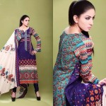 Barkha and Batik Lawn Collection 2012 by Moon Textile 6