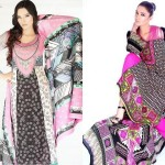Barkha and Batik Lawn Collection 2012 by Moon Textile 7