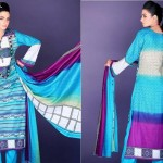 Barkha and Batik Lawn Collection 2012 by Moon Textile 8