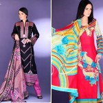 Barkha and Batik Lawn Collection 2012 by Moon Textile 9