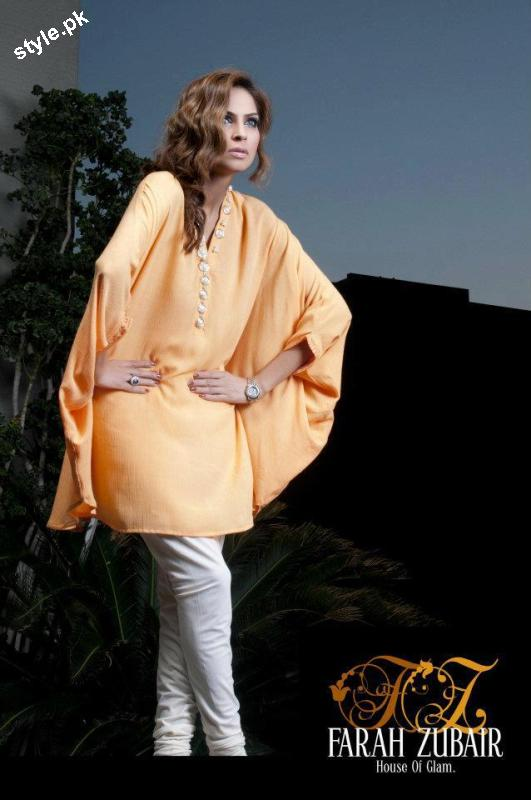Farah Zubair Pret & Formal wear 2012 by House of Glam 1