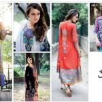 Five Star Textiles Swiss Voile & Zari Net Collection 2012 14