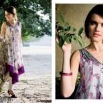 Five Star Textiles Swiss Voile & Zari Net Collection 2012 15