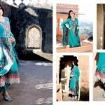 Five Star Textiles Swiss Voile & Zari Net Collection 2012 2