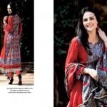 Five Star Textiles Swiss Voile & Zari Net Collection 2012 3
