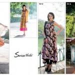 Five Star Textiles Swiss Voile & Zari Net Collection 2012 9