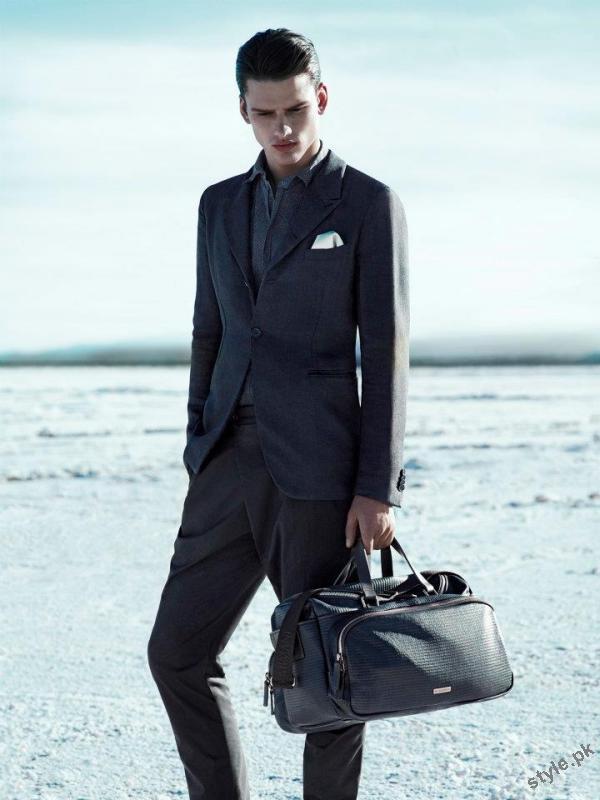 Armani suits for men 2012