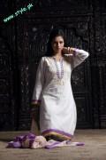 Latest Casual Wear Dresses For Women by Damak 2012-009