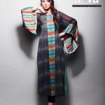 Latest Digital Diva By Needlez by Shalimar Summer Dresses 2012-009