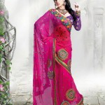 Latest Fashion Indian Saree Collection 2012 For Girls 11