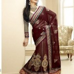 Latest Fashion Indian Saree Collection 2012 For Girls 13