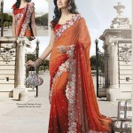 Latest Fashion Indian Saree Collection 2012 For Girls 14