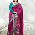 Latest Fashion Indian Saree Collection 2012 For Girls 2