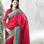 Latest Fashion Indian Saree Collection 2012 For Girls 6