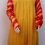 Latest Laal Aur Dhani Party Dresses For Summer 2012-004