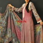 Latest Lawn Digital Prints For Summer by Resham Ghar 2012-011