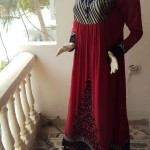 Latest Party Wear Summer Dresses By Siddiques Wardrobe 2012-003