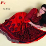 Latest Star Gold Lawn Collection by Naveed Nawaz Textiles 2012-012