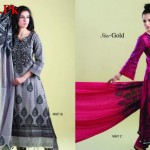 Latest Star Gold Lawn Collection by Naveed Nawaz Textiles 2012-013