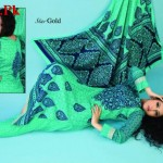 Latest Star Gold Lawn Collection by Naveed Nawaz Textiles 2012-014