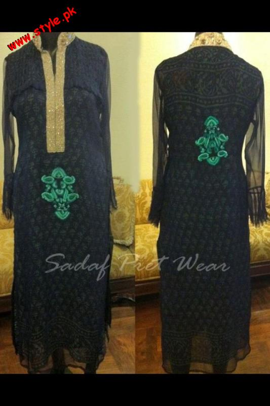 Latest Summer Collection by Sadaf Pret Wear 2012-004