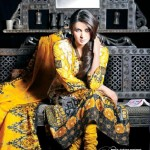 Latest Summer Dresses by Dawood Classic Lawn 2012 16
