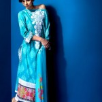 Mahnoush Summer Lawn 2012 for Girls- Complete Collection 1