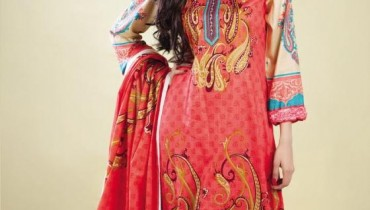 Naveed Nawaz Textiles Star Gold Lawn Collection 2012-001