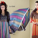 Naveed Nawaz Textiles Star Gold Lawn Collection 2012-004