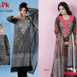 Naveed Nawaz Textiles Star Gold Lawn Collection 2012-005