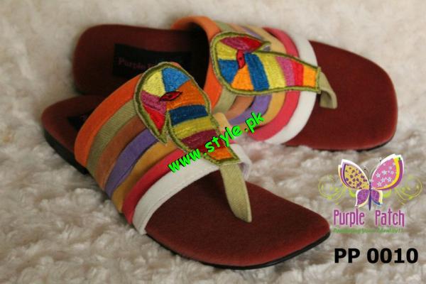 Purple Patch Latest Spring Summer Foot Wears 2012-004