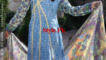 Resham Ghar Latest Lawn Collection For Summer 2012-006