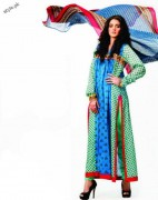 Subhata Designers Lawn For Girls 2012 by Shariq Textiles 4