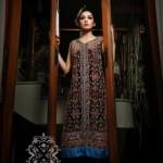 Xenab's Atelier Latest Semi-Formal Wear Dresses 2012-006