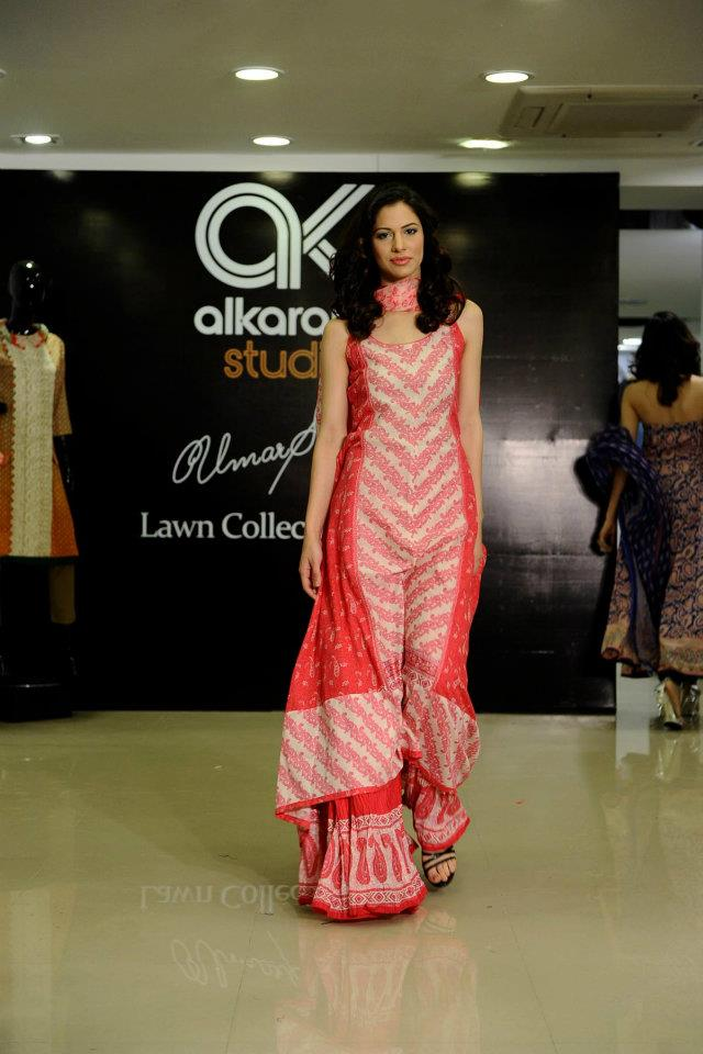 Al Karam Studio Umar Sayeed Lawn Collection 2012 13
