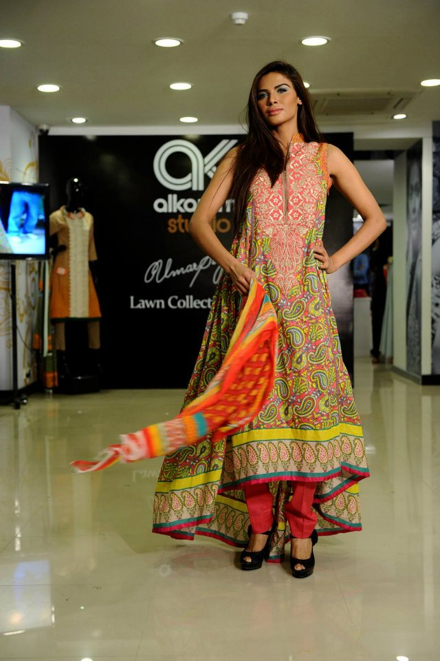 Al Karam Studio Umar Sayeed Lawn Collection 2012 5