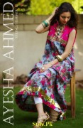 Ayesha Ahmed Latest summer Lawn Collection 2012-004