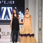 Azza Outfits At PFDC Sunsilk Fashion Week 2012, Day 1-012